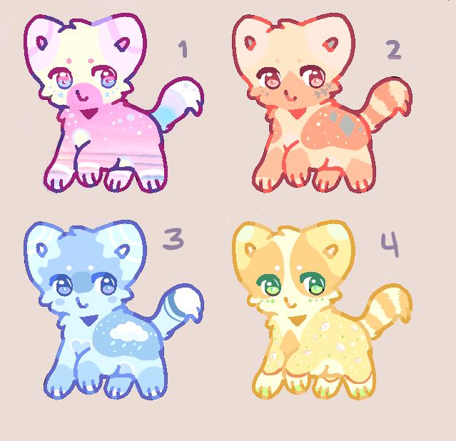 OPEN Cat Adopts (3/4)