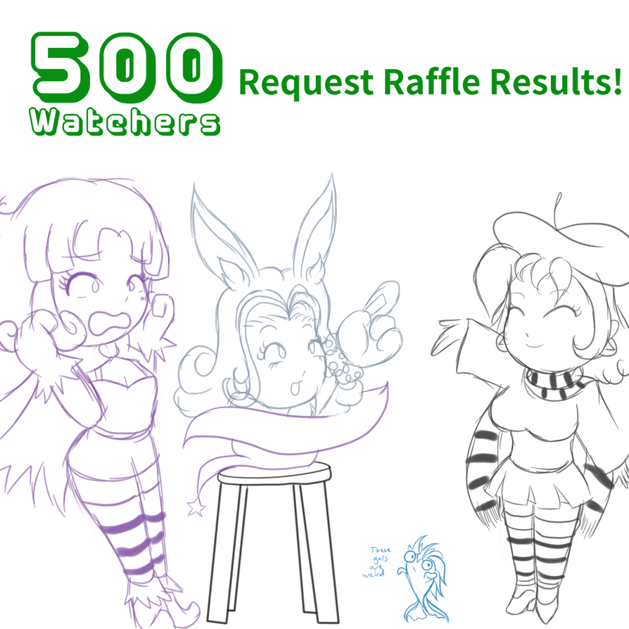 DA Request Raffle Results by DeadPhoenX