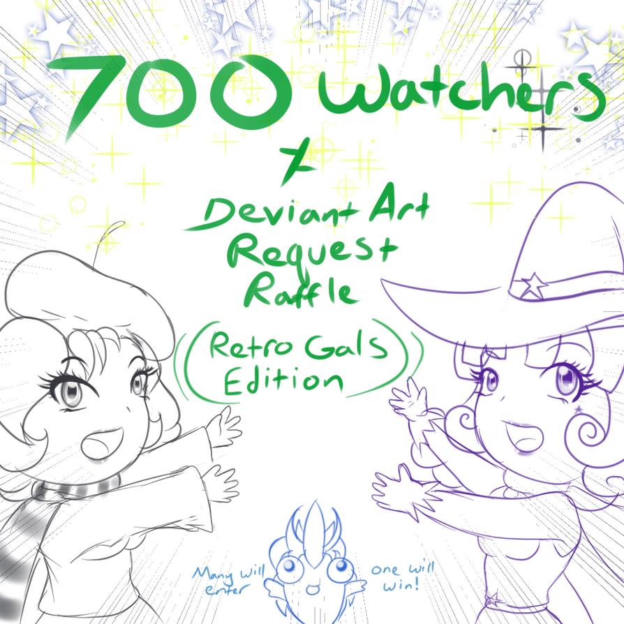 700 Watchers Request Raffle by DeadPhoenX