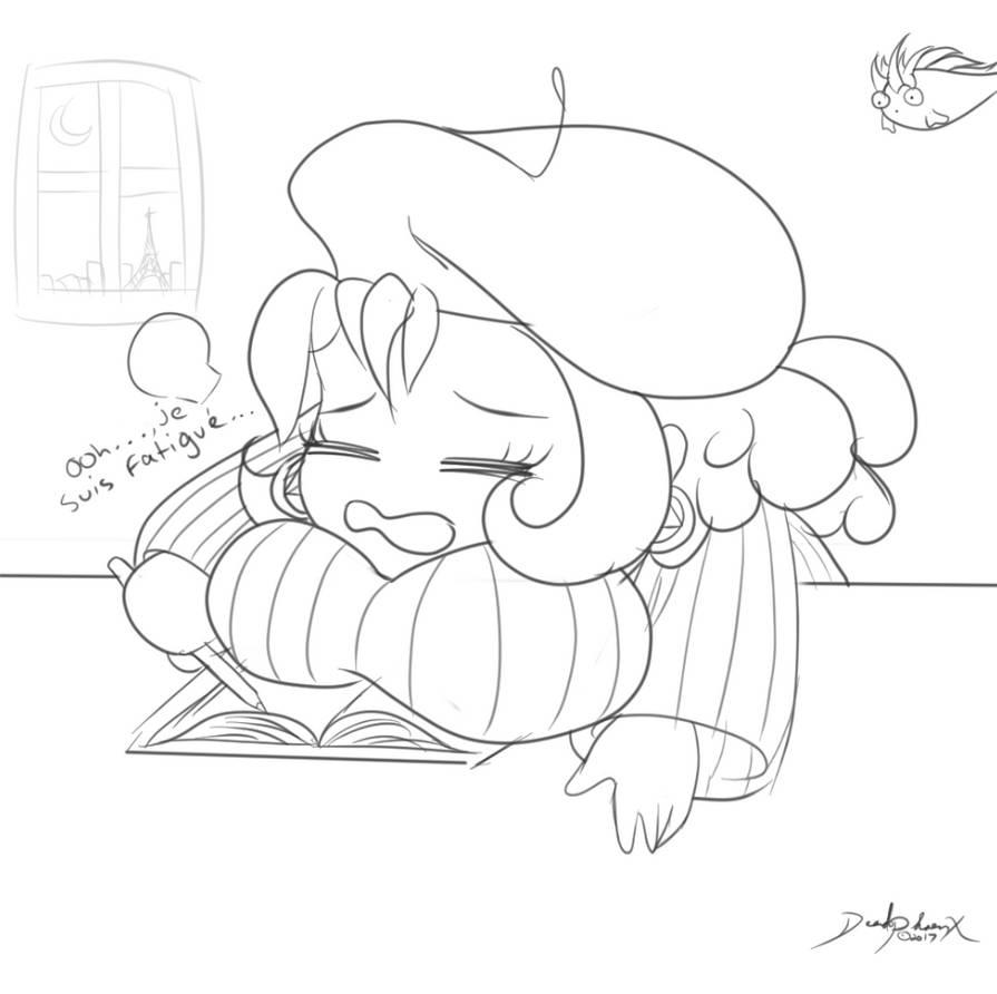 Chelsi tired (FR) by DeadPhoenX