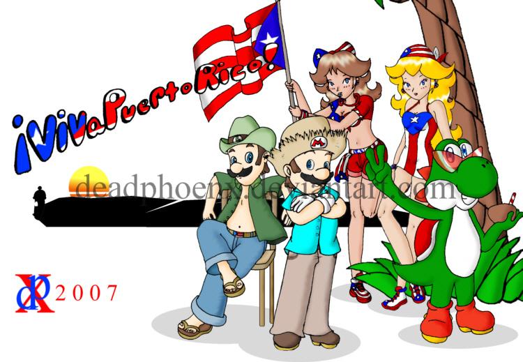 Viva Puerto Rico by DeadPhoenX
