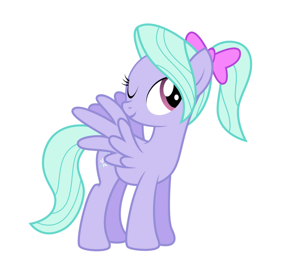 flitter with a ponytail by northernthestar on deviantart