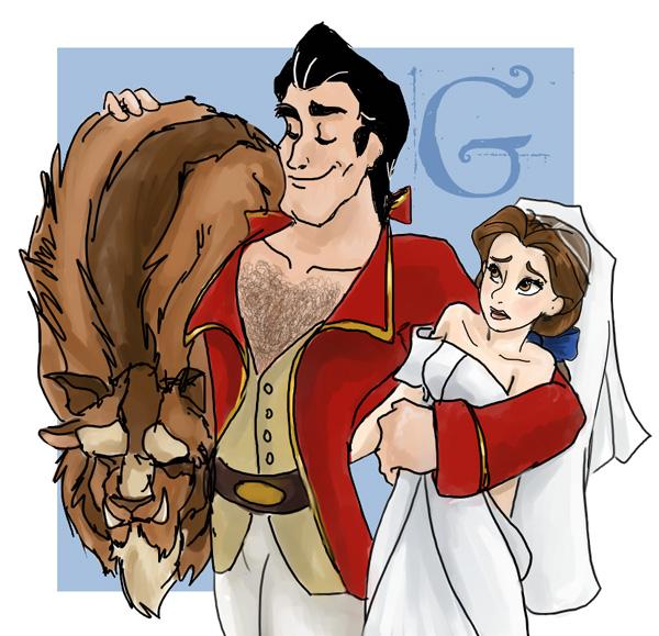 Gaston the Champion by gabfury