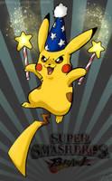 Brawl Pikachu by gabfury