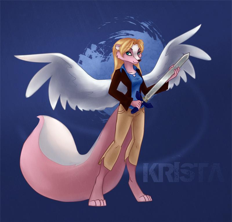 Krista Skunk by gabfury