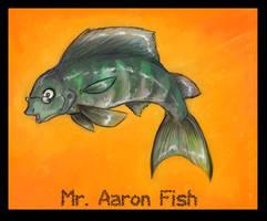 Mr Aaron Fish by gabfury