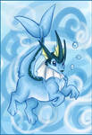 Vaporeon of ... .. I dont know
