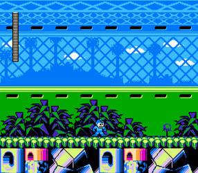 Mega Man: Worlds Collide - Espio Man's Stage