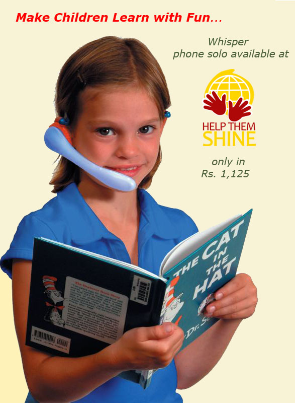 WhisperPhone Junior met Headset  Overige hulpmiddelen