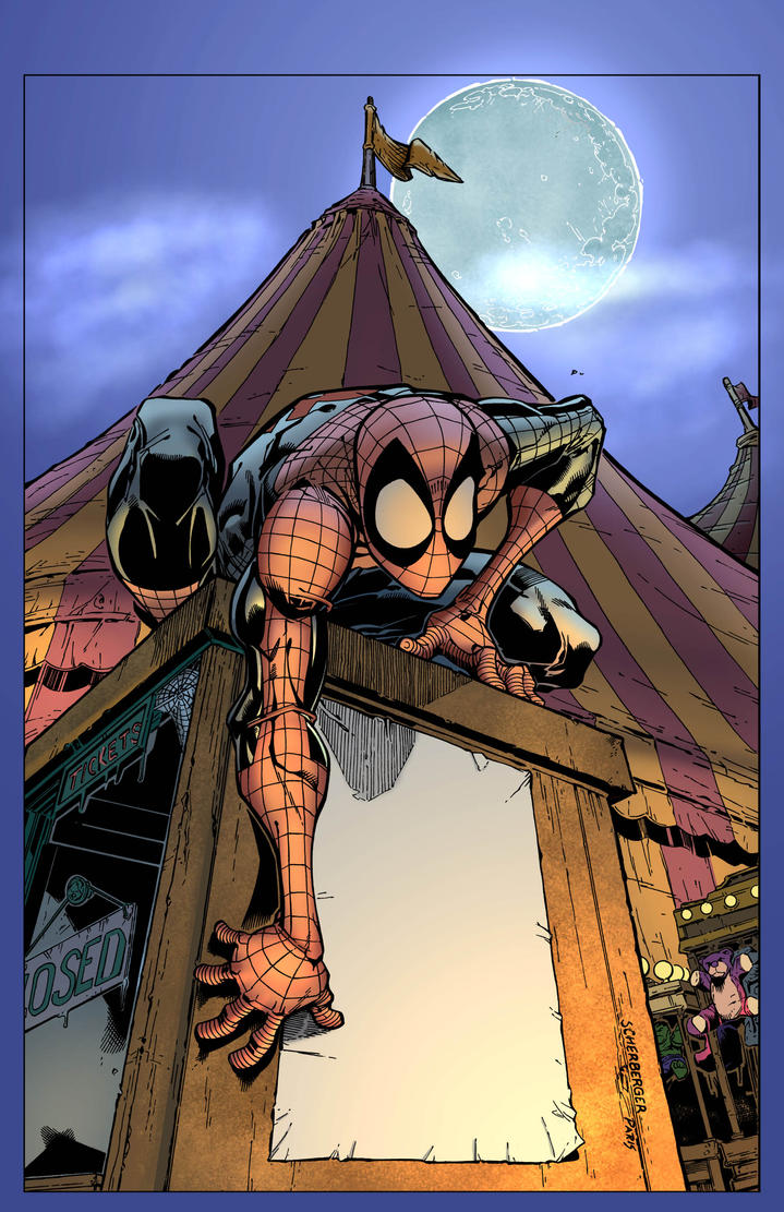Spidey Cover Flats By Alexasrosa-d38rjr7 by Tomas-M91