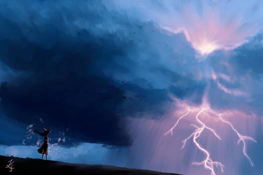 Witchtober #6: Lightning