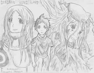 Deadman Wonderland by donkeyshygal