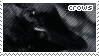Crow Stamp by sunbirds