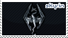 Skyrim Stamp by sunbirds