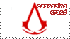 Assassins Creed Stamp [white] by sunbirds