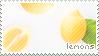 Lemons Stamp by sunbirds