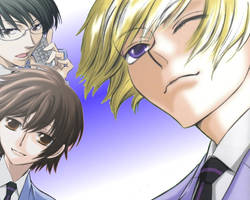 Ouran Wallpaper by slycrazy