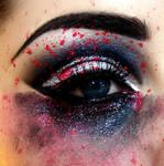 Make-up Smeared Eye