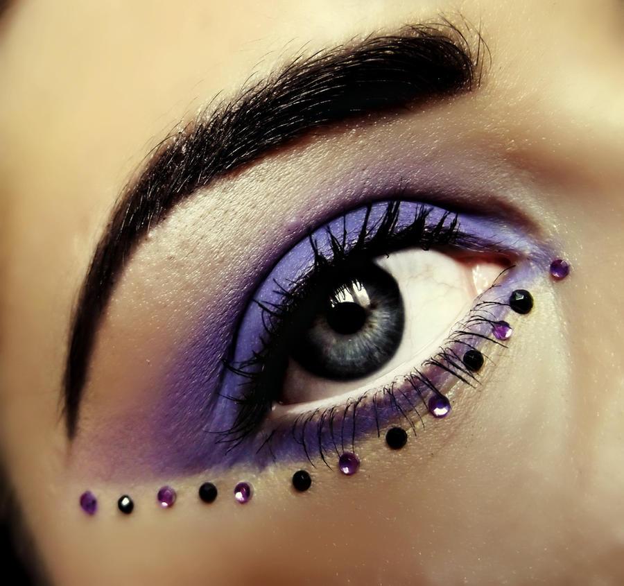 Dark Fairy Make-up by KikiMJ on DeviantArt