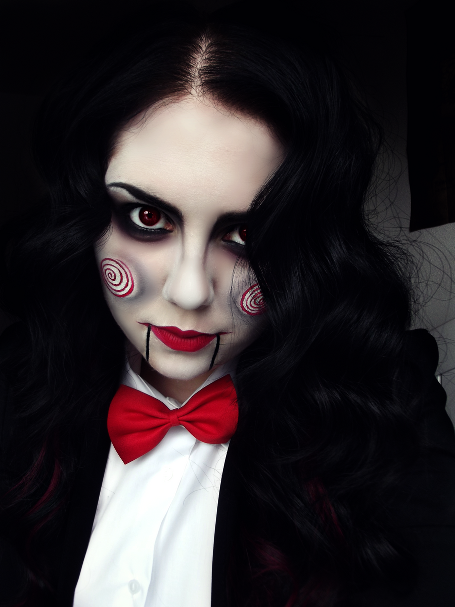Jigsaw cosplay by kikimj on deviantart - Maquillage diablesse halloween ...