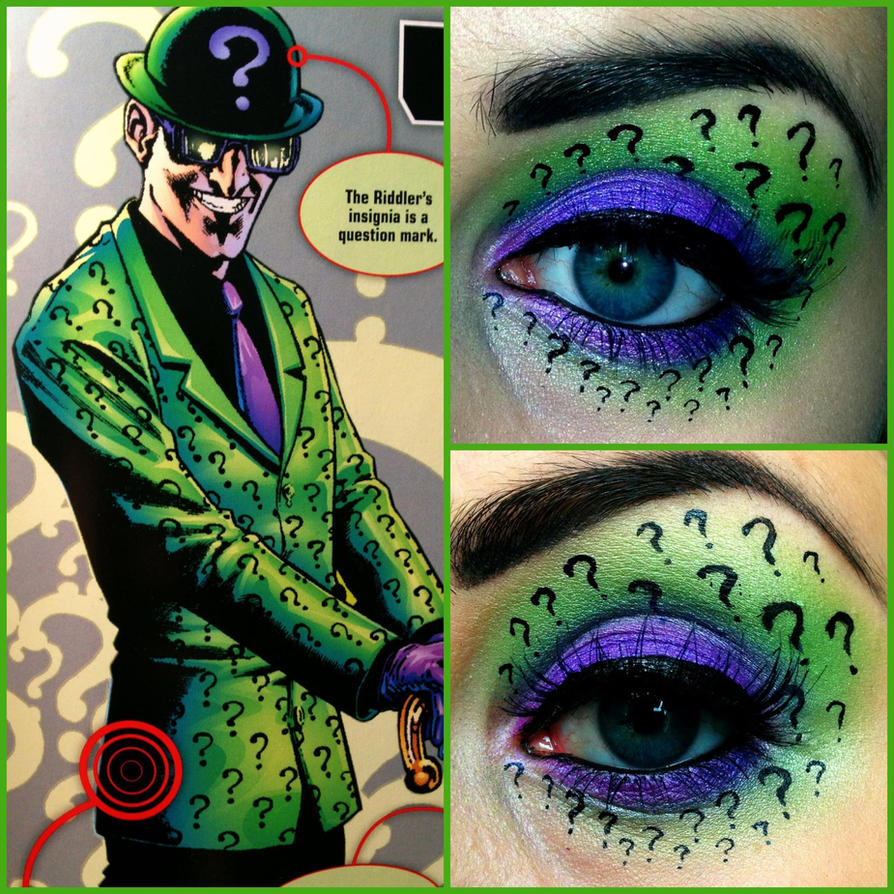 DC Comic's The Riddler by KikiMJ
