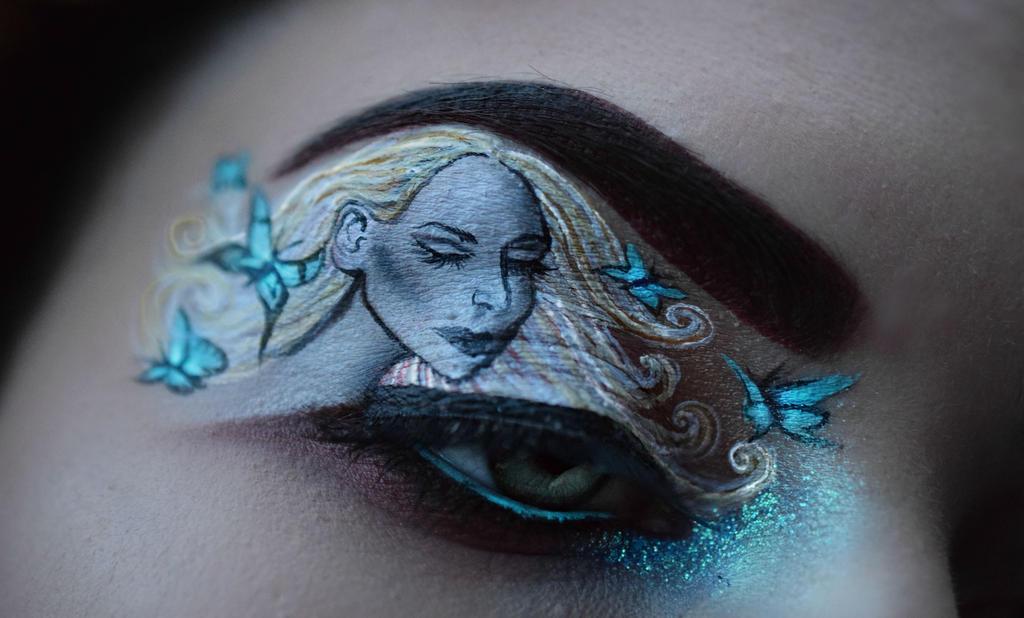 Lunar Moth Priestess