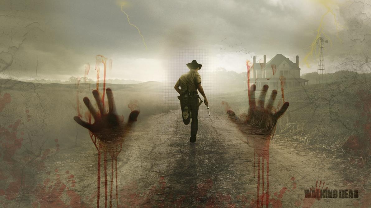 The Walking Dead Wallpaper By BlooddrunkDesigns