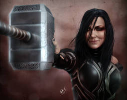 Hello Hela by BornTewSlow