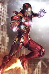 Iron Man Mark XLVI by BornTewSlow