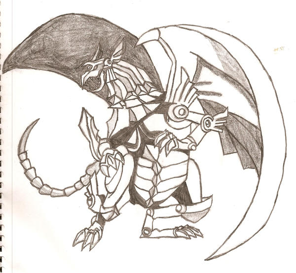 The Winged Dragon Of Ra By Azrael Luchador On DeviantArt