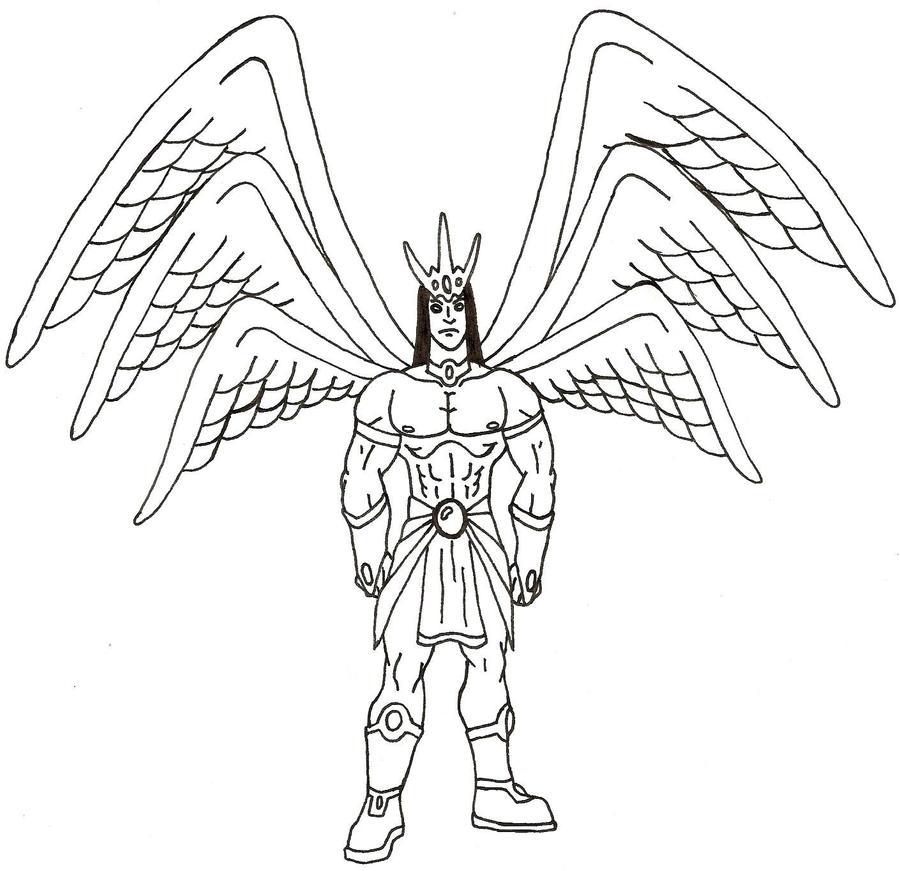 Lucifer Azrael: Lucifer By Azrael-Luchador On DeviantArt