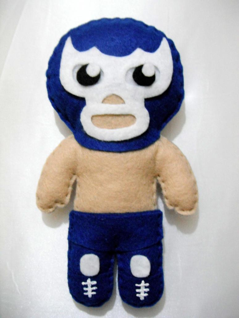 Peluche Blue Demon by Azrael-3411