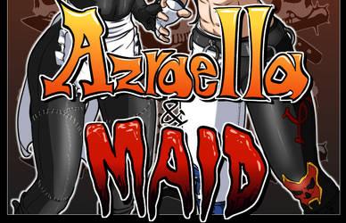 Maid and Azraella by BHM138 by Azrael-Luchador