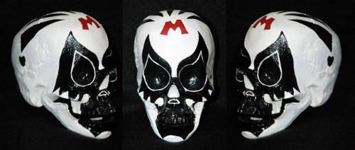 Dia de Muertos - Mil Mascaras 2 by Azrael-Luchador