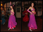 the belly dancer by Ingelore
