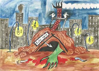 The Monsters Lair by mekkasop