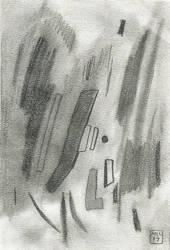 Untitled Pencil Drawing by mekkasop
