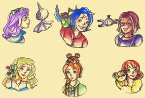 Bachelorettes and Pokemon by MagicallyClueless