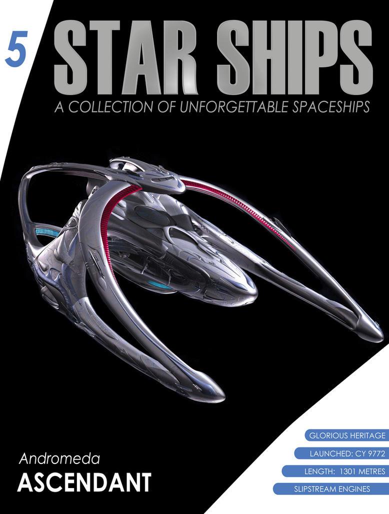 Star Ships 5- Andromeda Ascendant by robertoalamino