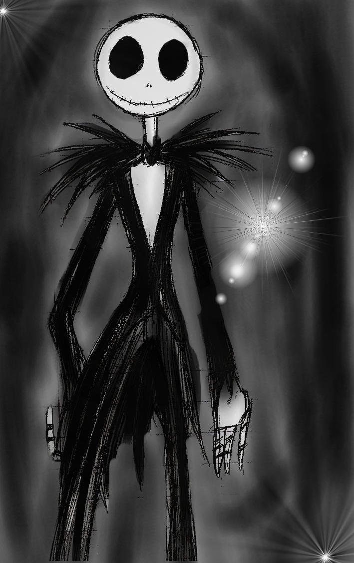 + Jack Skellington + by termina-the-wolf