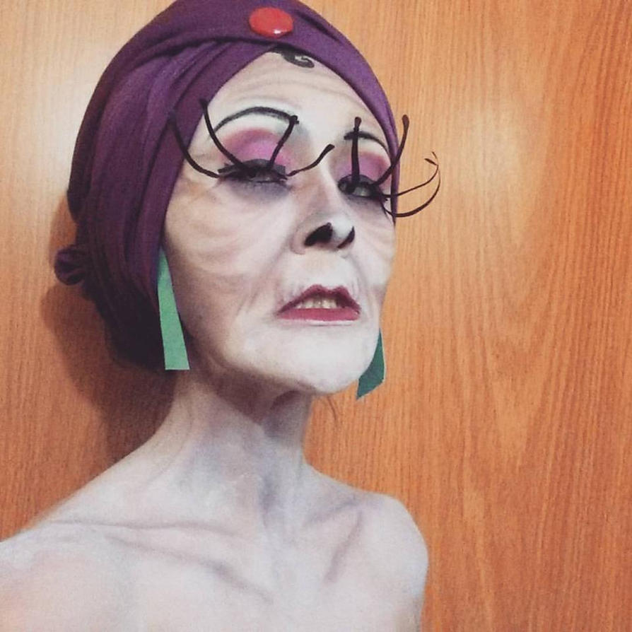 Yzma makeup test by Somichu