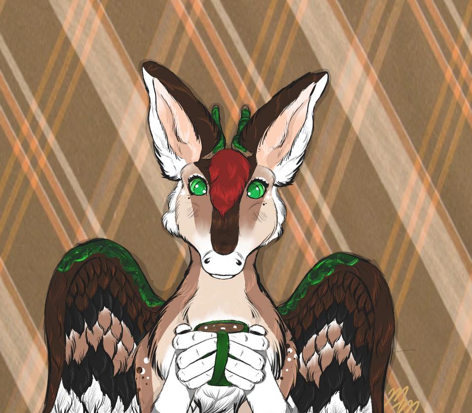 Bambi the Dutch Angel Dragon by MooshieMoo