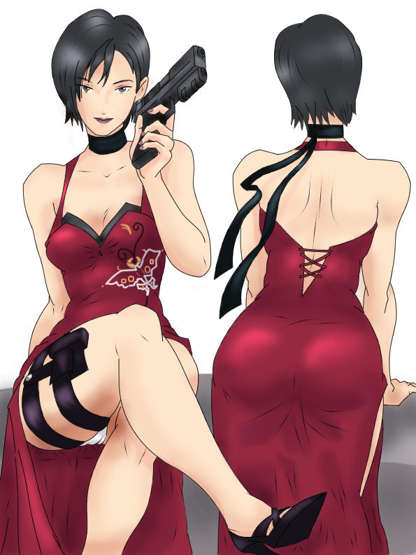 ada wong coloring pages - photo#24