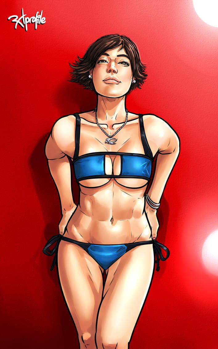 Asuka Kazama Modeling (?) by Radprofile