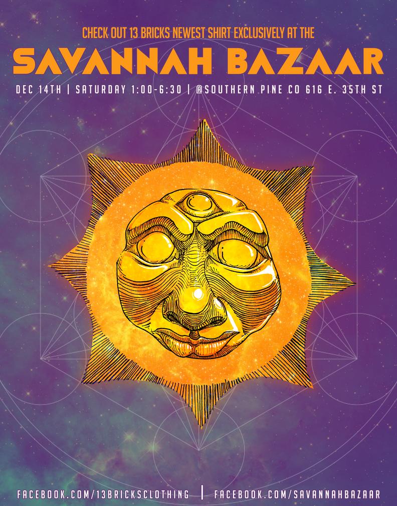 Savannah Bazaar poster by cheeny