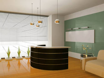 3D Architectural Interior: Office