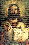 Jesus in Stainglass