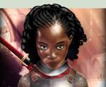 Portrait of a Warrioress (Mini)