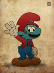 Smurf Mario