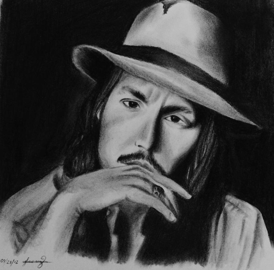 Johnny Depp by Ruse-girl